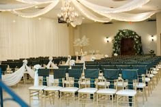 Indoor wedding ceremony | Arizona Wedding Photographers | Villa Tuscana