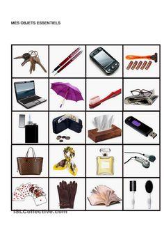 Mes objets essentiels