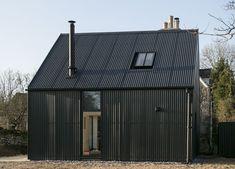 Corrugated Sheets, Wpc Decking, Steel Barns, Uk Companies, Modern Barn House, Garden Studio, Garden Office, Design Inspiration, Design Ideas