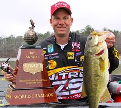 Kevin Vandam is arguably the best and most decorated professional tournament bass fisherman ever.