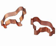 Copper Newf Cookie Cutter