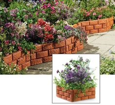 Snapping Brick Garden Borders