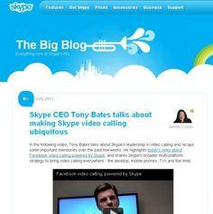 Facebook: videochiamate con Skype direttamente via web browser
