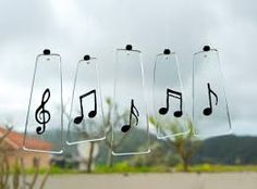 Musical Notes Wind Chimes