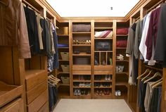 All the Right Spaces Gallery - More than you Expected for Less than you Thought - View Photos of Solid Wood Modular Closet and Pantry Inserts Modular Closets, Space Gallery, Walk In Closet, Burnt Sugar, Home Organization, Solid Wood, Birch, Closet Ideas, Condo
