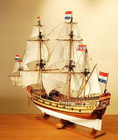 Model Ships | Drommedaris Ship Model dutch