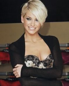 blonde short sexy.....when I get the nerve to go short again...AMAZING look