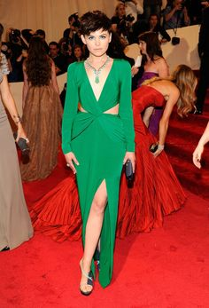 Ginnifer Goodwin in a Topshop gown at the 2011 #MetGala