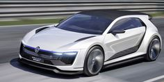 This Volkswagen Golf Concept Looks Like the Future | A 395-horsepower plug-in hybrid? Yes [Futuristic Cars: http://futuristicnews.com/category/future-transportation/]
