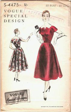 Beautiful Unused Vintage 1950s Vogue Special by NostalgieVintage