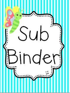 (Freebie) Sub Binder