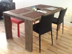 blox dining table, cb2, $599 | cb2 blox table | pinterest, Esstisch ideennn
