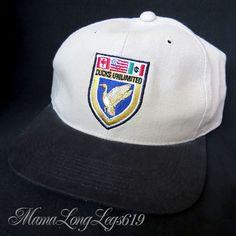 Vintage Ducks Unlimited Hunting StrapBack Hat Cap Badge Canada USA Mexico NWOT #DucksUnlimited #BaseballCap