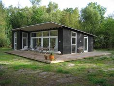 Low Budget House, Black House Exterior, Art Deco Kitchen, Shipping Container Homes, Tiny House Plans, Tiny House Design, Kit Homes, My Dream Home, Bungalow