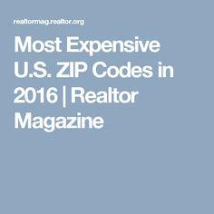 Most Expensive U.S. ZIP Codes in 2016 | Realtor Magazine