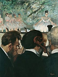 Edgar Degas, Musicians in the orchestra - 2