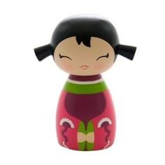 "Poupée Japonaise Kokeshi Momiji ""Giggles"" - Momiji Doll/Collection Randoms - Lulu Shop"