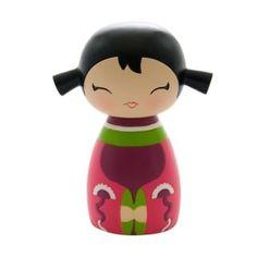 "Poupée Japonaise Kokeshi Momiji ""Giggles"" - Momiji Doll/Collection Randoms - Lulu Shop"