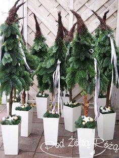 Billedresultat for kwiaciarnia pod żółtą różą Grinch Christmas Tree, Christmas Greenery, Christmas Arrangements, Christmas Flowers, Nordic Christmas, Outdoor Christmas Decorations, Christmas Art, Xmas Tree, Winter Christmas