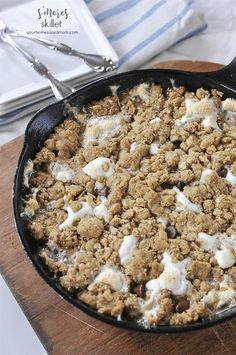 No need for a campfire with this one. Enjoy Skillet S'mores anytime! They are amazing!! Yes, this does taste as amazing as it looks. In fact, if I hadn't shared it with my neighbors I am convinced I would have eaten the entire thing myself – all in one sitting!! May I dare say, this…
