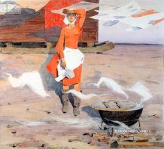 Mikhail Evdokimovich Tkachev - The Cook, 1968