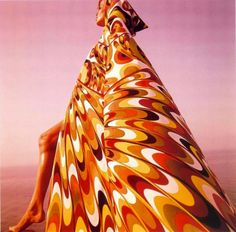 Verushka in Morocco.   Emilio-Pucci, 1964