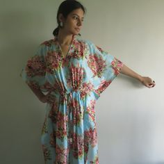Buttoned Kaftan made from CC4 Fabric Pattern