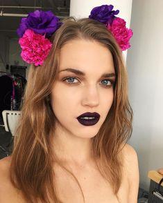 482 отметок «Нравится», 23 комментариев — Natalie Ventola (@nattiventi) в Instagram: «It's F R I D A Y! #newnew Beauty Story   Hair and Makeup by me for #beautyfridays @dauphinemagazine…»
