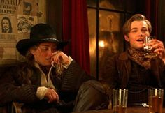 Leonardo DiCaprio and Sharon Stone in The Quick and the Dead Sharon Stone, Belle Starr, Le Far West, Character Prompts, Character Aesthetic, High Plains Drifter, Leonardo Dicaprio, Story Inspiration, Batgirl
