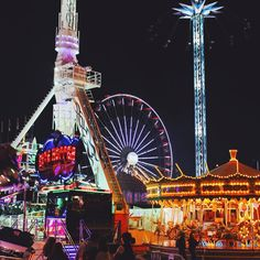 Nottingham Goose Fair, Tim Walker, Night Time, Imagination, Fair Grounds, Photography, Image, Style, Swag