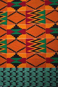New-African-Kente-Print-Ethnic-Ghanian-Fabric-Cloth-Bright-Colors-Sold-per-yard