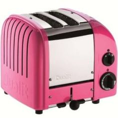 NewGen Dualit toaster, chilly pink
