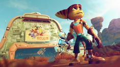 'Ratchet & Clank' hits PS4 on April 12thThe PlayStation 4 version of Ratchet & Clank a mega-remaster of Insomniac's PlayStation 2 game lands on Sony's new console on April 12th. That's just before the Ratchet & Clank movie hits theaters on April 29th. Ratchet & Clank on PS4 is more than a simple visual upgrade: It's a completely new game based on the PS2 version with an expanded story more planets to explore new weapons fresh controls and other goodies.