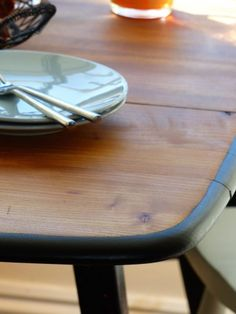 Ercol Dining Table - Upcycled extending table By Jay Blades for BBC's Money for Nothing Recyled Furniture Show.