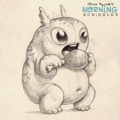 Happy Thanksgiving to all of you! Eat all the foods today!  #morningscribbles