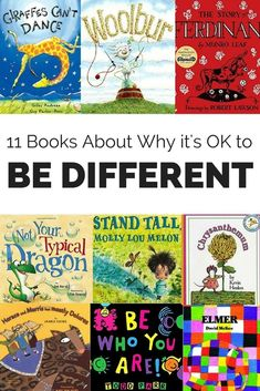 Our uniqueness is special and should be celebrated. Help kids understand why it's OK to be different with these eleven books.