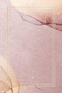 Gold frame on pink glitter background illustration | premium image by rawpixel.com / wan #vector #vectorart #digitalpainting #digitalartist #graphicdesign #sketch #digitaldrawing #doodle #illustrator #digitalillustration #modernart #frame #glitter Pink And Gold Background, Blue Texture Background, Gold Wallpaper Background, Rose Gold Wallpaper, Iphone Wallpaper Glitter, Framed Wallpaper, Watercolor Background, Wallpapers Rosa, Tapete Gold