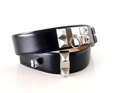 Hermes Belt CDC Collier de Chien Black Palladium