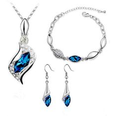 Platinum-plated Fashion Jewelry Set with Imported Crystal Element (CF-1083-S06) Crystal Fashion http://www.amazon.com/dp/B00HMFD5OE/ref=cm_sw_r_pi_dp_KEpfvb0DFVFAN