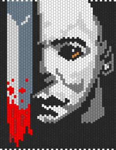 http://kandipatterns.com/patterns/characters/michael-myers-from-halloween-panel-15948