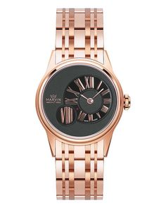 Marvin Women's Plated Watch