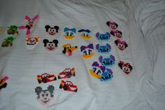 Disney Fusion / Perler Bead Magnets