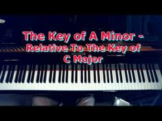 Playing Songs In The Key of A Minor On The Piano