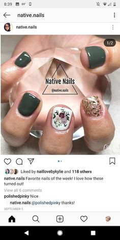 Super Easy Fall Nail Designs for Short Nails – Makeup, Nails and Beauty – Grandcrafter – DIY Christmas Ideas ♥ Homes Decoration Ideas Short Nail Designs, Fall Nail Designs, Nail Polish Designs, Fall Gel Nails, Short Gel Nails, Winter Nails, Summer Nails, Cute Nails, Pretty Nails
