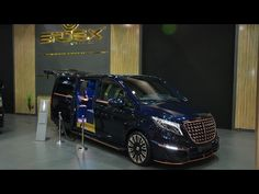 Mercedes Benz V-Class Black Crystal - Exterior Walkaround - 2016 Moscow Automobile Salon Mercedes Benz, Top Gear, Black Crystals, Toys For Boys, Moscow, Cars And Motorcycles, Ferrari, Transportation, Automobile