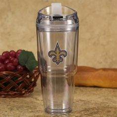 New Orleans Saints 22oz. Insulated Tumbler
