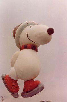 1987 Skating Snoopy
