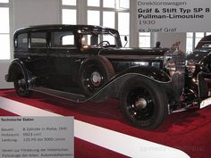 Gräf & Stift SP8 Graf, Retro Cars, Passion
