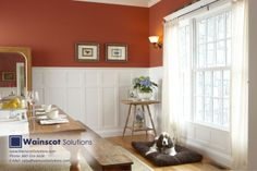 Give your walls more architectural detail with Beautiful Wainscoting. Visit our website at: http://www.wainscotsolutions.com/
