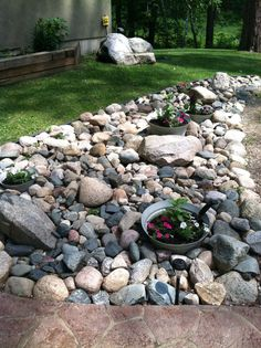 Dwarf Conifer Rock Garden Design Id E A on